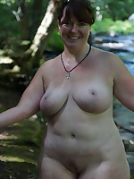Fat older women, some with big tits - Chubby Naturists