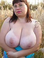 Women of middle age, but with larger breast size - Chubby Naturists