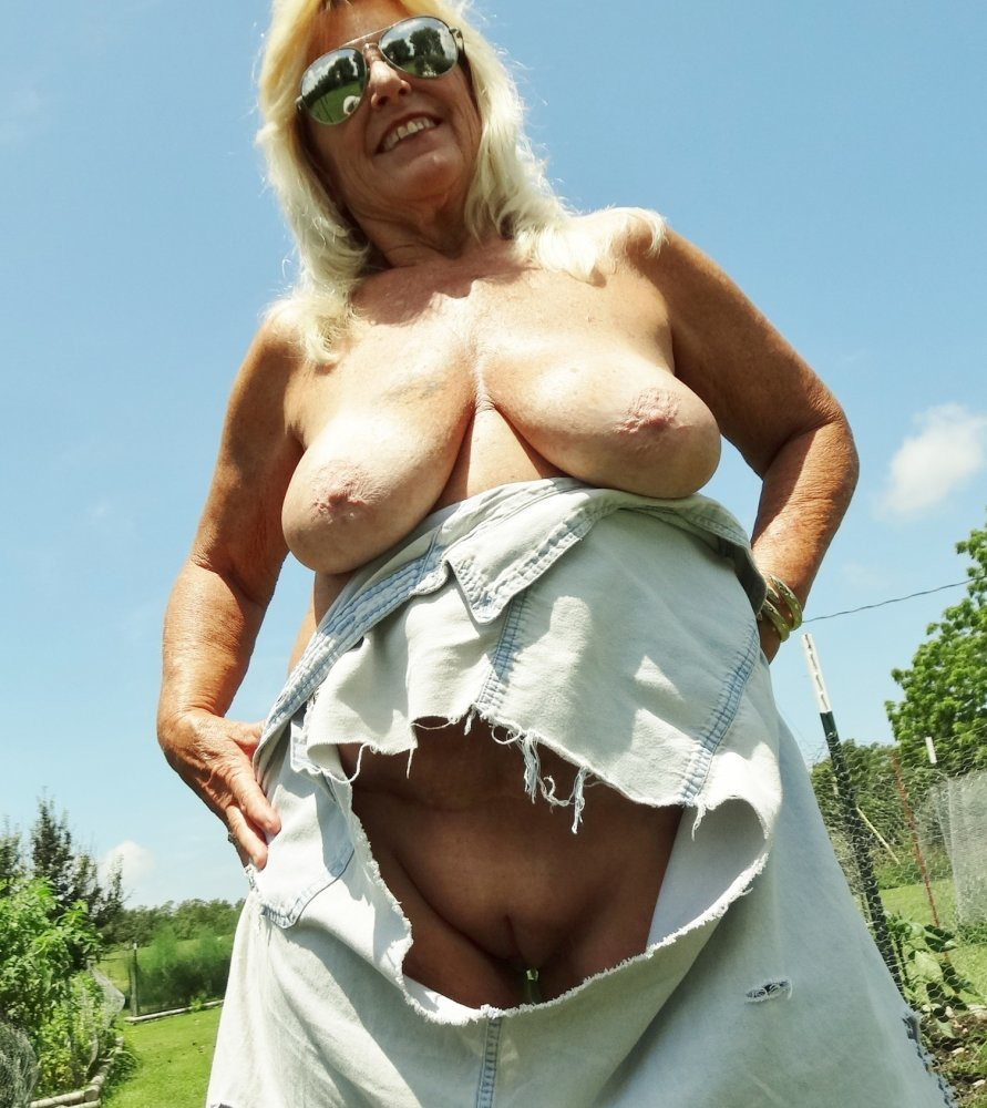 Old granny matures